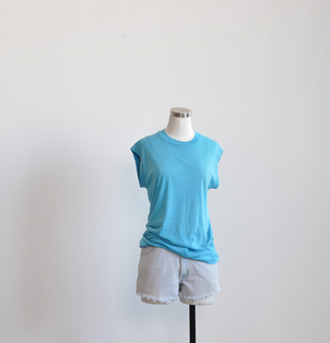 Turquoise Muscle Tank Tops