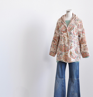 Tapestry Style Coat Outerwear