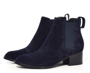 rag & bone Walker Boot in Navy Suede Shoes Tops