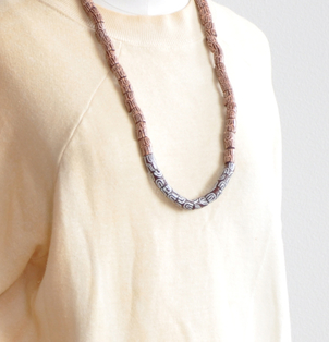 Clay Bead Necklace Accessories