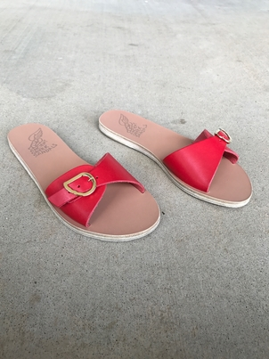 Ancient Greek Sandals Filia Sandal in Red Sale Shoes