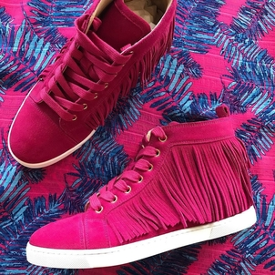 Christian Louboutin Frangine Sneakers in Rosa Shoes