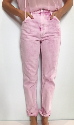 Isabel Marant Isabel Marant Étoile ISABEL MARANT ETOILE PINK JEANS Pants