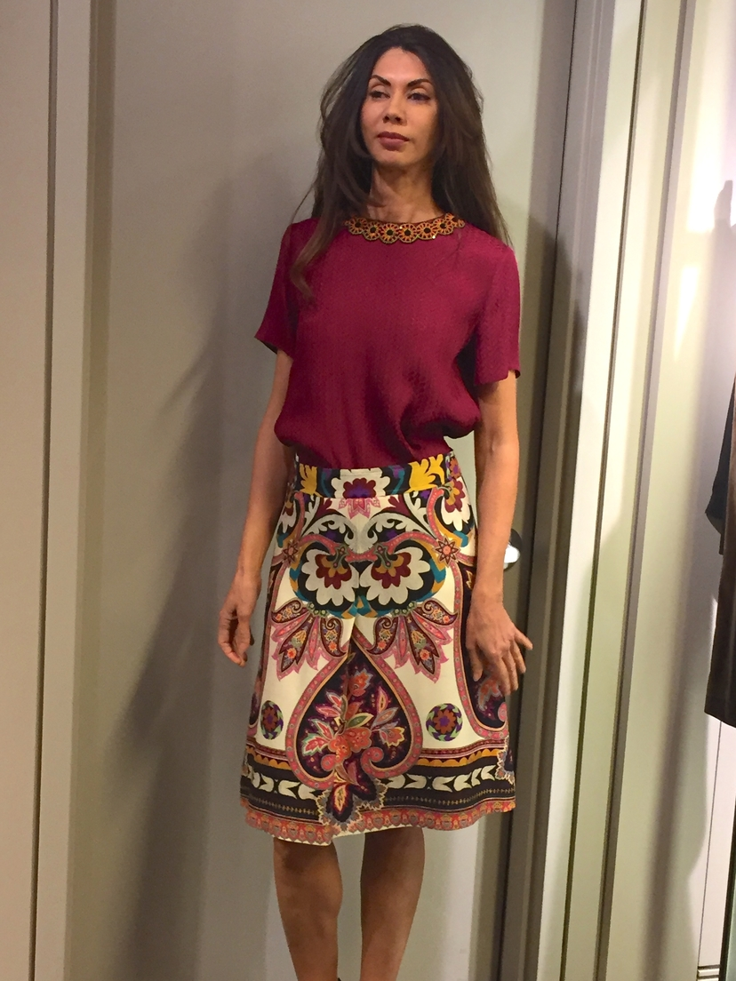 Etro Skirt + Top Skirts Tops