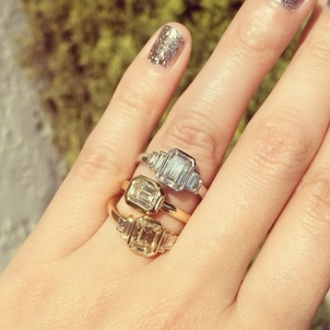 Single Stone Engagement Rings Jewelry