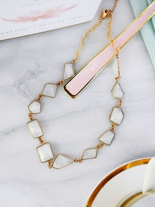 Charme Silkiner Charme Silkiner Moonstone Necklace