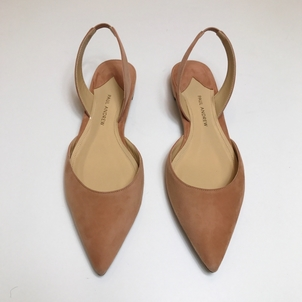 Paul Andrew PAUL ANDREW SUEDE SLING BACK IN BLUSH Shoes