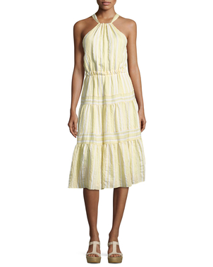 Rebecca Taylor Sleeveless Halter Dress Dresses