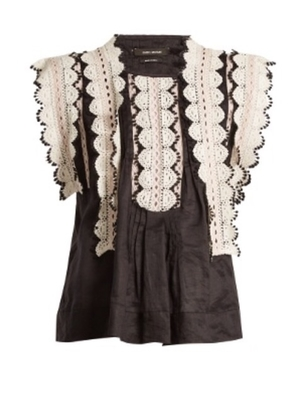 Isabel Marant Nandy Top Tops