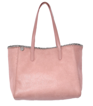Falabella Shaggy Deer Tote in Pink