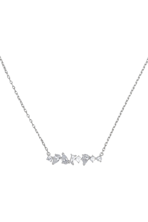 Alex Mika Shattered Necklace Jewelry