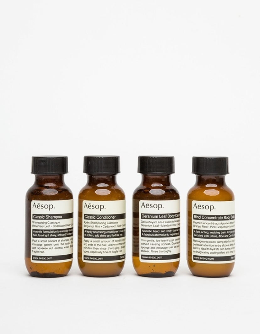 Aesop Aesop Jet Set Travel Kit Men's