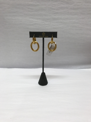 Julie Vos Gold Link Earrings Jewelry