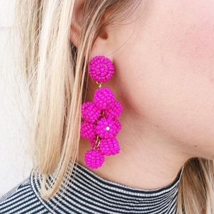 Pink all day These awesome earrings are up on the website now! Don't forget to come shop with us at The Boutique Blowout Sale Tomorrow (from 9-7)!