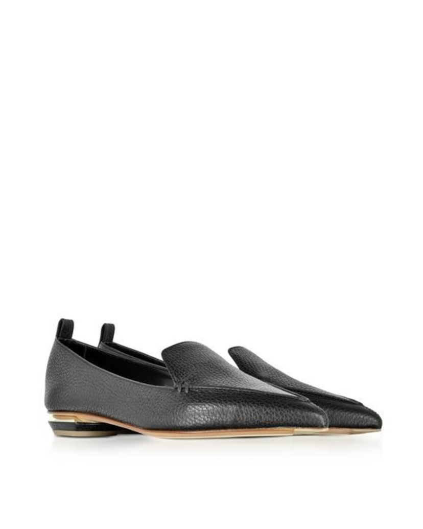 Nicholas Kirkwood Beya 16 Loafer in Black Leather Shoes