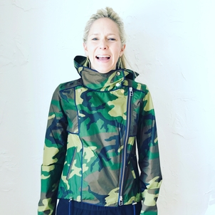 Veronica Beard Hero Camo Parka Outerwear Sale
