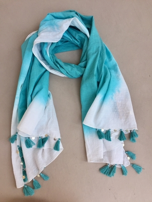 Michael Stars Sea Dip Tassel Wrap Accessories