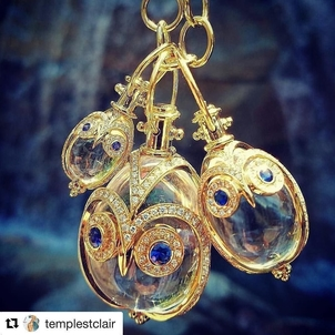 Temple St. Clair Owl Amulet Jewelry