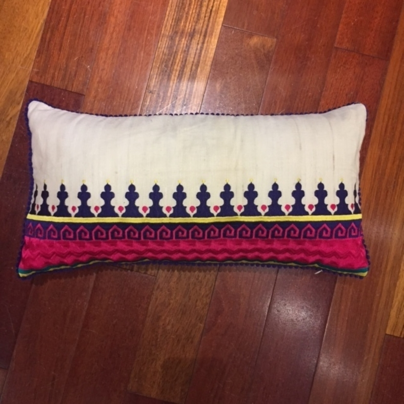 Casablanca Boarder Pillow