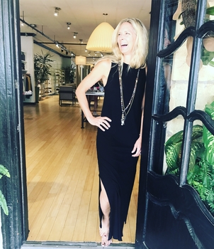 Tee Lab by Frank & Eileen Muscle Maxi Dress - Black Dresses