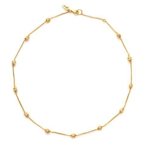 Julie Vos Penelope Delicate Station Necklace Jewelry