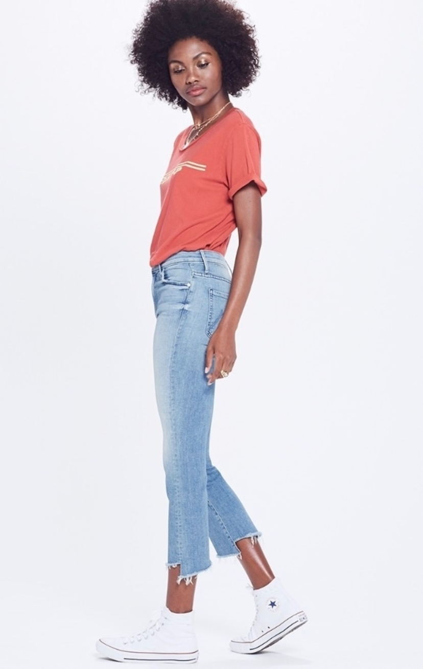Mother Insider Crop 2 Step Fray (Originally $216) Pants Sale