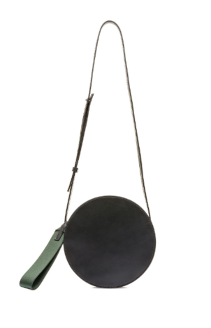 Marni Tambourine Bag in Black + Fog Bags Tops