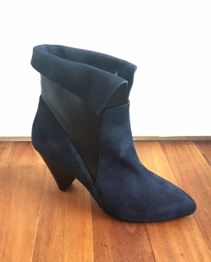 Veronica Beard Laurel Suede Bootie Sale Shoes