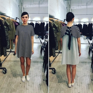 Sea Sailor Stripes Dresses