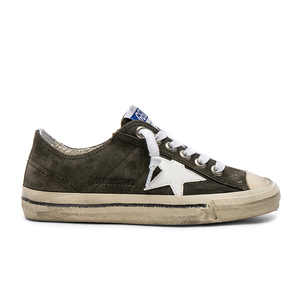 Golden Goose Deluxe Brand V-Star Sneaker - Military Green Shoes