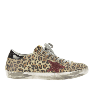 Golden Goose Deluxe Brand Superstar Sneaker in Leopard Shoes