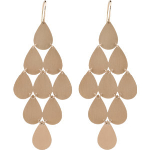 Irene Neuwirth Rose Gold Chandelier Earrings Jewelry