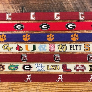 Smathers & Branson Collegiate Needlepoint Belts Accessories