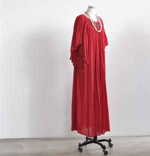 Red Cotton Caftan Dresses
