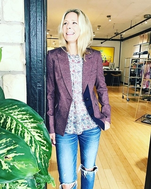 Veronica Beard Sterling Placket Jacket Outerwear