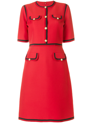 Gucci Shift Dress in Red Skirts