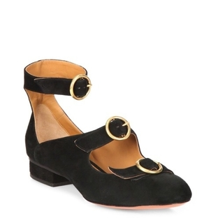Chloé Mary Jane Ballerinas Shoes