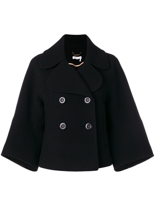 Chloé Diagonal Short Jacket Outerwear