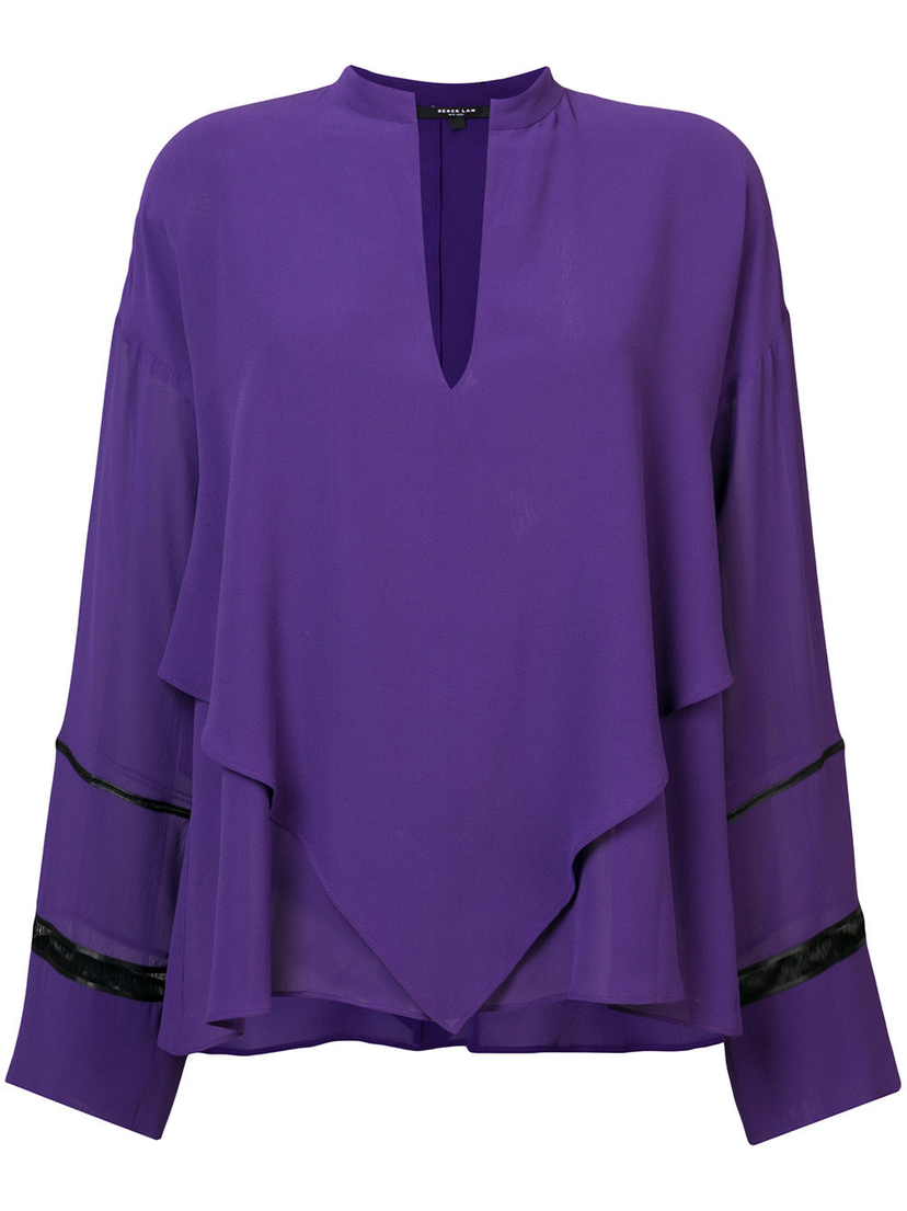 Derek Lam V-Neck Blouse Outerwear