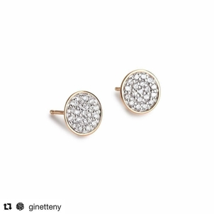 The Perfect Round Sequin Diamond Studs Jewelry