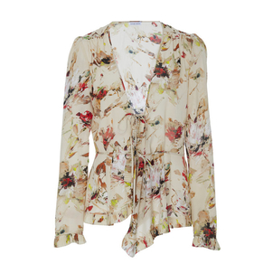 Tomas Maier Cosmic Floral Top Tops