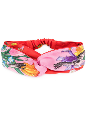Gucci Flora Snake Headband Accessories