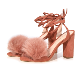 Nicolette Sandal in Dusty Rose