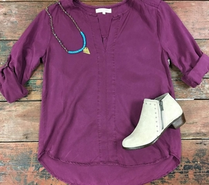 G.Spinelli Minnetonka Side Stitch Color Play Jewerly Shoes Tops