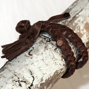 Embrazio Lazo Turco Handmade Leather Bracelet Jewelry