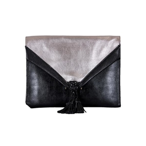 Embrazio Savannah Leather Envelope Clutch and Crossbody Bags