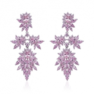 Fallon Jewelry Cluster Earrings - Pink Jewelry