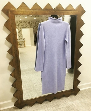 The perfect baby b l u e sweater dress // deserves it's own [moment]