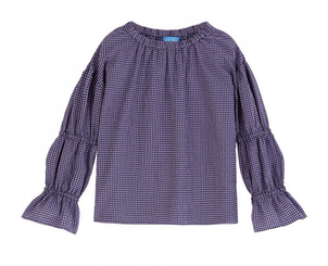 M.i.h Jeans Bubble Top in Violet Tops
