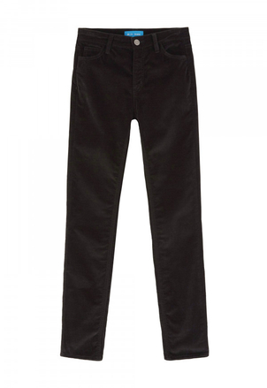 M.i.h Jeans Bridget Jean in Black Velvet Pants